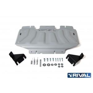 Navara D23 et D40 2005+ Blindage radiateur 6mm RIVAL 2333.4164.2.6