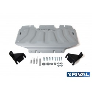 Mercedes Classe X  Blindage radiateur RIVAL en alu 6mm 2333.4164.26