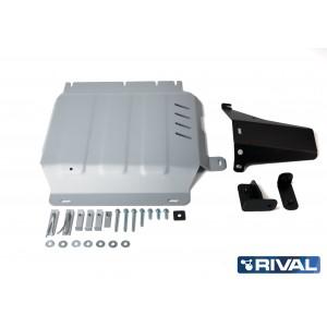 Navara D23 (NON EURO6) et D40   Blindage boite de transfert 6mm RIVAL  2333.4167.1.6