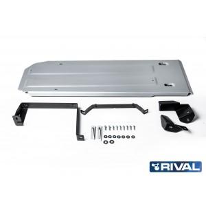 Navara D23 (EURO6) et D40   Blindage reservoir 6mm RIVAL  2333.4172.1.6