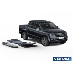 Amarok 2016+ Kit de 3 blindages en aluminium 6mm RIVAL 23333.5856.1.6