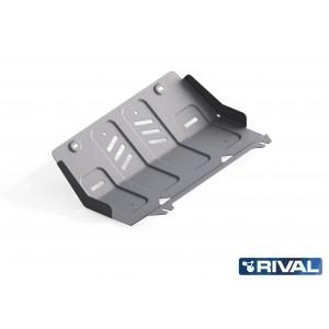 Blindage radiateur aluminium 6mm RIVAL  Fullback 2333.4046.1.6
