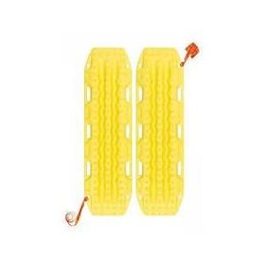 Plaques MAXTRAX jaune  la paire