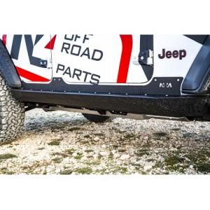 Jeep JL 5 portes Paire de protection de bas de caisse.