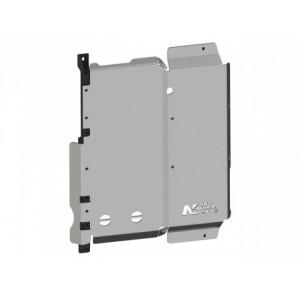 Blindage boîte de tranfert et réservoir Wrangler JL 2.2l diesel 3p