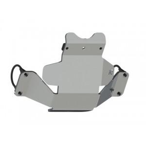 Blindage nez de pont arrière 8mm Wrangler JL