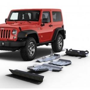 Blindages Jeep Wrangler JK 3.6L 2007-2018