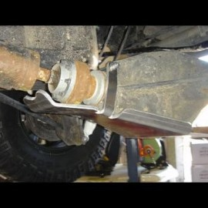 Jeep JK Blindage Nez de pont AR DANA44