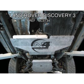 Land Rover Discovery III Blindage Boite de transfert