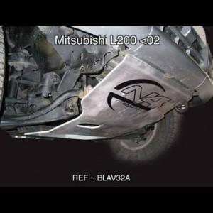 Mitsubishi L200 avant 2002 Blindage avant