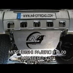 Mitsubishi Pajero de 91 à 2000 Montero après 2000 Blindage avant