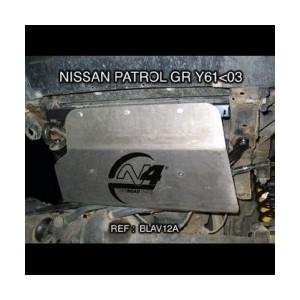 Nissan GR Y60 Blindage avant  chassis 630mm