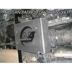 Nissan GR Y60 Y61 3p Blindage boite de transfert