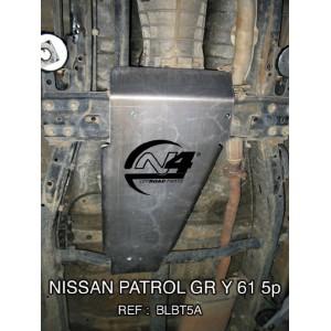 Nissan GR Y60 Y61 5p Blindage boite de transfert