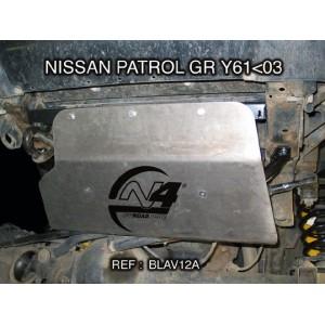 Nissan GR Y61 avant 2003 Blindage avant