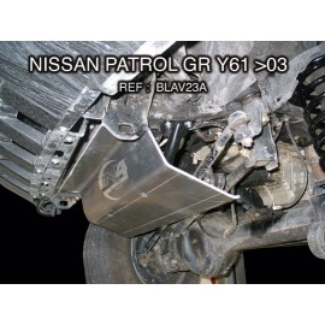 Nissan GR Y61 après 2003 Blindage avant