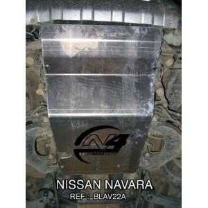 Nissan Navara D22  Blindage avant
