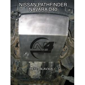 Nissan Navara D40 après 2005 Blindage avant