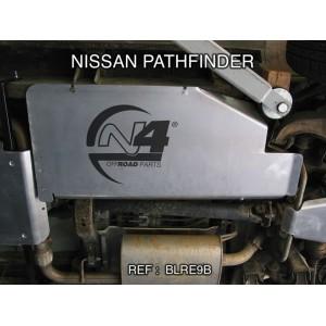 Nissan Pathfinder Blindage reservoir