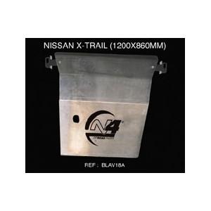 Nissan Xtrail Blindage avant 8mm