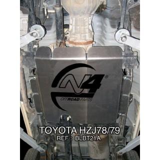 Toyota HZJ78 79 Blindage Boite de transfert + reservoir