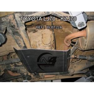 Toyota LJ70  KZJ70 73 Blindage Boite de transfert