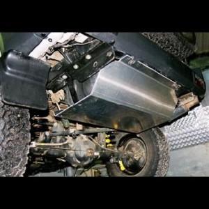 Toyota KZJ95 ou KDJ95 Blindage reservoir