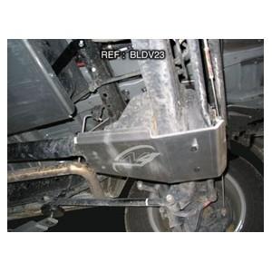 Toyota HDJ80  HZJ80 Blindage Nez de pont AR