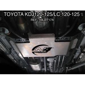 Toyota KDJ120 125 Blindage Boite de transfert