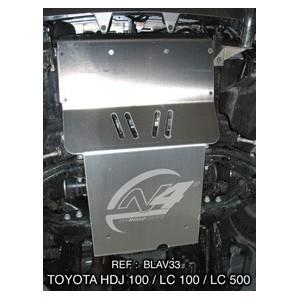Toyota HDJ100 Blindage avant