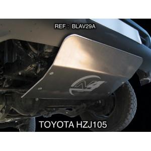 Toyota HZJ105 Blindage avant