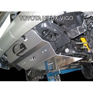 Toyota Vigo Blindage avant