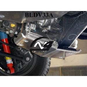 Toyota Vigo Blindage Nez de pont AR