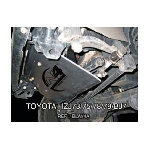 Toyota HZJ  BJ 70 71 73 74 75 78 79 Blindage avant