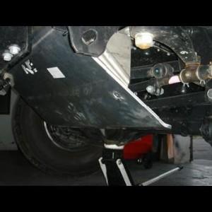 Toyota HZJ76 VDJ76 HZJ71 78 79 Blindage avant