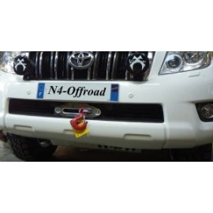 Platine N4 de fixation treuil pour Toyota KDJ150  N4-KMT024