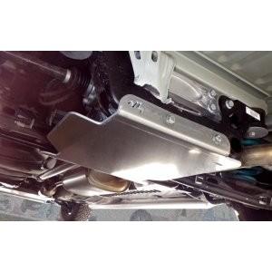 Volkswagen T5 4MOTION après 2010 Blindage nez de pont