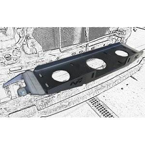 Platine N4 de fixation treuil pour Toyota KDJ120 ou KDJ125 N4-KMT012
