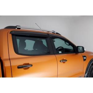Déflecteurs de portes Ranger Double cabine 4 portes