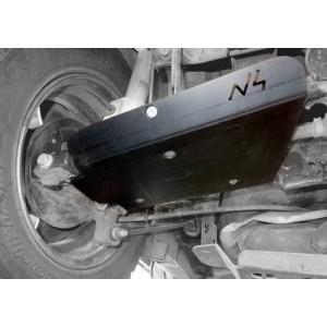 Duster I, II et III Protections de triangle / transmission arrière BLDV97P
