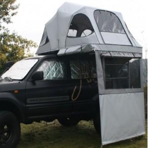 auvent pour tente de toit James Baroud VISION 150