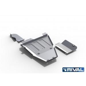 Hilux 2015+ Blindage  boite transfert et réservoir Adblue  6mm RIVAL 2333.9526.1.6